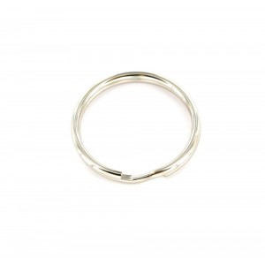 Securit Split Ring Steel Nickel Plated 25mm Pack 4