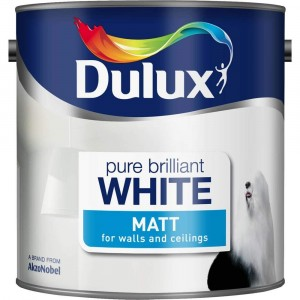 Dulux Matt Emulsion Pure Brilliant White 3 Litre