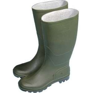 Town & Country Essentials Full Length Wellington Boots - Green UK Size 4
