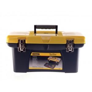 "Stanley Jumbo Toolbox 19"" + Tray"