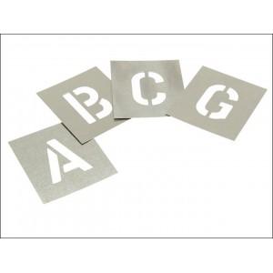 """Set of Zinc - Letters 2"""" in Wallet"""