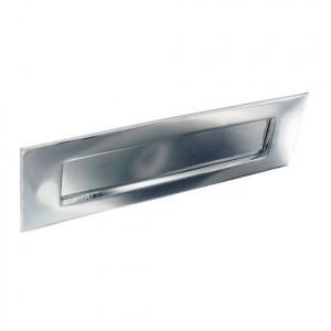 Securit Chrome Letter Plate 250mm