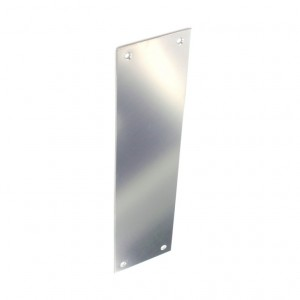 Securit Chrome Finger Plate 280mm
