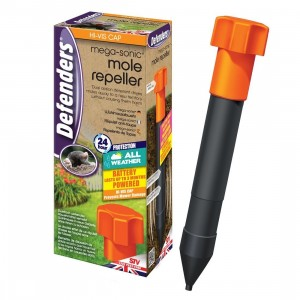 Defenders Mega Sonic Mole Repeller