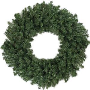 Ambassador Green Wreath PE 50cm
