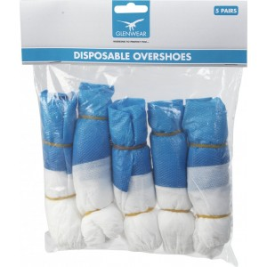 Glenwear Disposable Overshoes Pack 5 Pairs