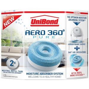 UniBond Aero 360 Moisture Absorber Refill Pack 2