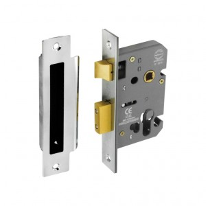 Securit Euro Sash Lock Nickel Plated 63mm
