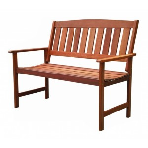 Pagoda Buckingham 2 Seat Wood Bench
