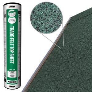 Rose Roofing IKO Trade Felt Top Sheet Green 10m x 1m