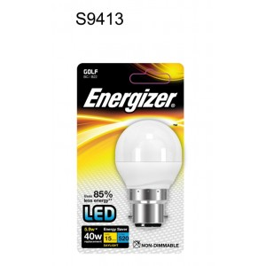 Energizer LED Golf Ball Lamp 470 Lumen Daylight