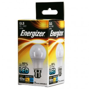 Energizer LED GLS 820lm B22 Daylight Boxed BC