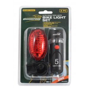 Brookstone LED Cycle Light Set
