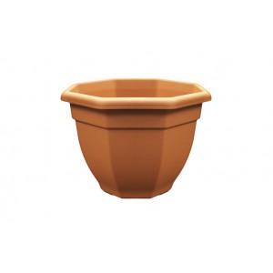 Grosvenor Octagonal Bell Pot Terracotta 36cm