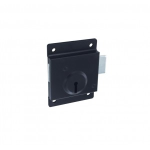 Securit Press Lock Black 75mm