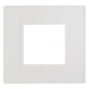 Dencon Finger Plates for Flush Wall Switches White Pack 2