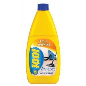 1001 Carpet Shampoo 3 in 1 Machine 500ml