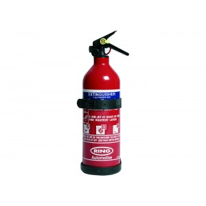 Ring 1kg Dry Powder Fire Extinguisher Rated A B and C