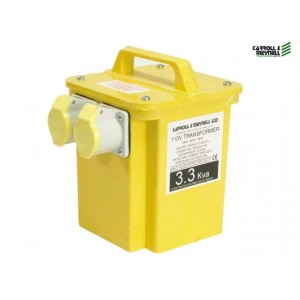 Transformer Twin Outlet 2 x 16 Amp 3.3kva