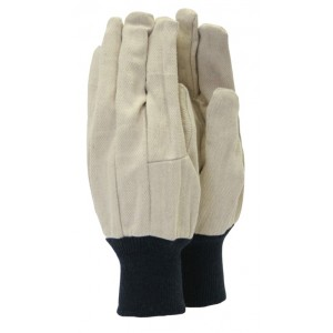 Town & Country Basic Canvas Gloves Large