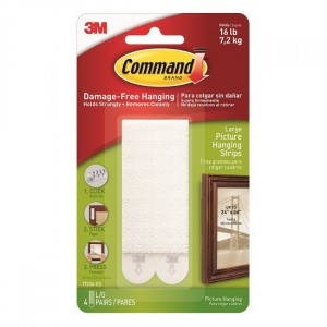 3M Command Large Picture Strips