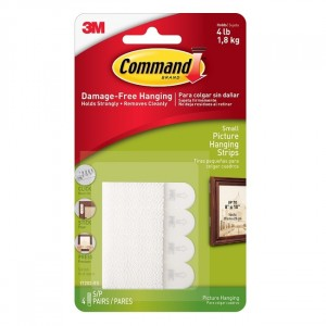 3M Command Small Strips