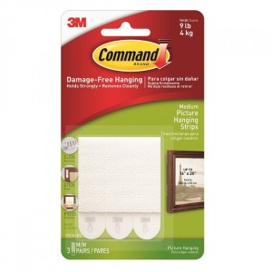 3M Command Medium Picture Strips