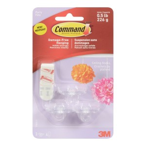 3M Command Party Ceiling Hooks