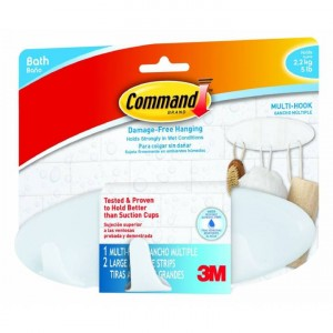 3M Command Bathroom Multi Hook