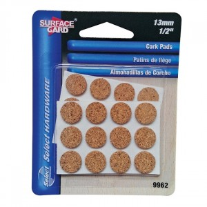Select Surface Gard 24 Round Cork Pads 13mm