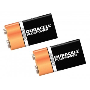 Duracell Plus 9V Pack 2