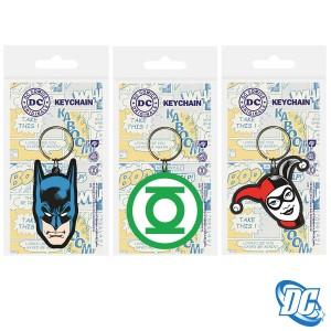DC Comics PVC Keyring