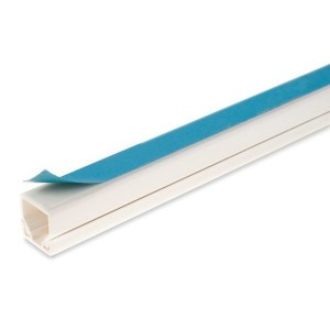 Dietzel Univolt Self Adhesive Cable Trunking White