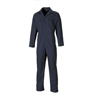 Dickies Redhawk Economy Stud Front Overall Navy Blue