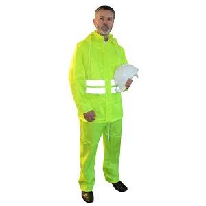 Scan Hi-Vis Rain Suit Yellow