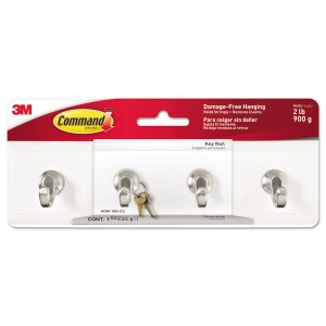 3M Command Key Rail Small