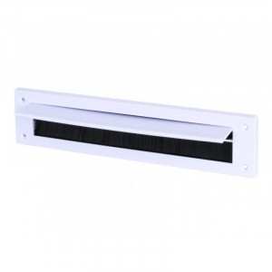Letterbox Draught Excluder with Flap 43mm x 275mm