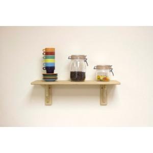 Core Products Natural wood Shelf Kit Pine