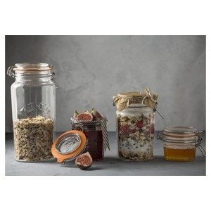 Kilner Faceted Clip Top Jar