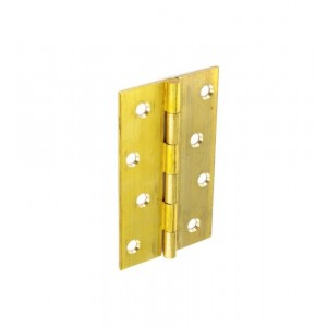 Securit Butt Hinges Brass Self Colour (Pair)