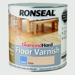 Ronseal Diamond Hard Clear Varnish 2.5 Litre