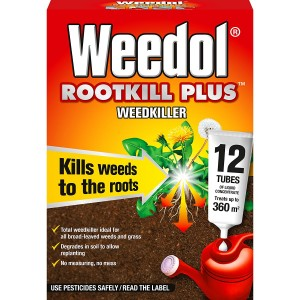 Weedol Rootkill Plus Liquid Concentrate - Tubes
