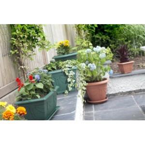 Whitefurze 24cm Venetian Round Planter -