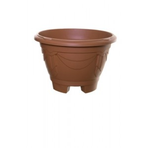 Whitefurze 34cm Round Venetian Planter with Legs