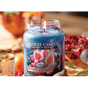 Yankee Scented Candles Mulberry & Fig Delight
