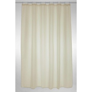 Blue Canyon Plain Polyester Shower Curtain 180cm x 180cm