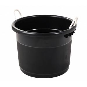 Curver Round Tub - Black
