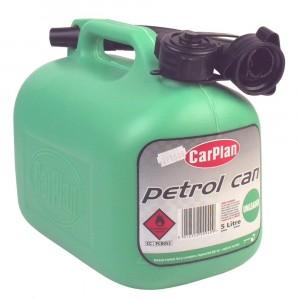 Carplan Fuel Can & Spout 5 Litre