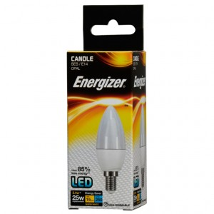 Energizer LED Energy Saving Candle Bulb Opal