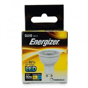 Energizer LED GU10 Spotlight Bulb Opal 3.6W (35W) Non-Dimmable